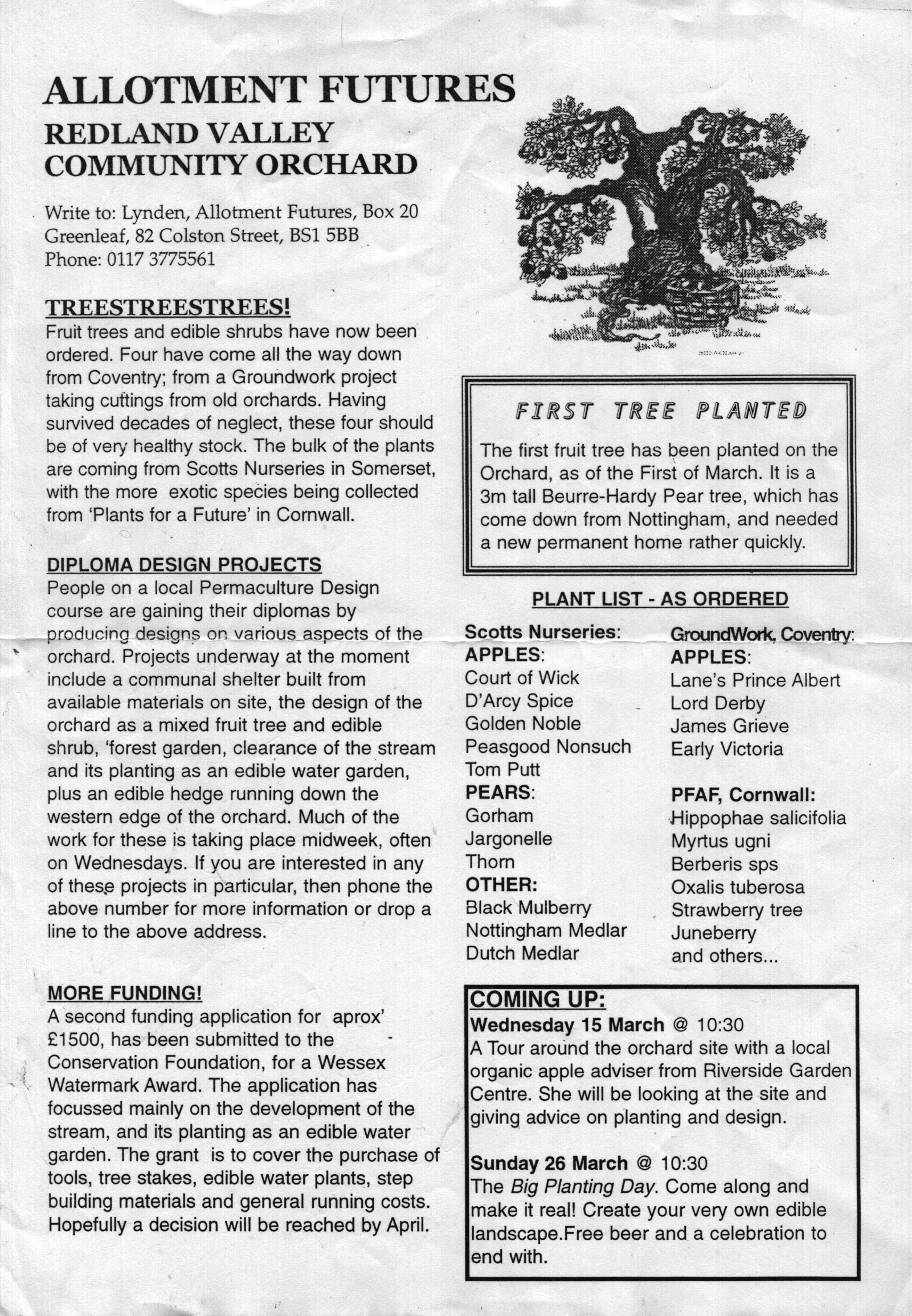 Orchard Contents - MRCO